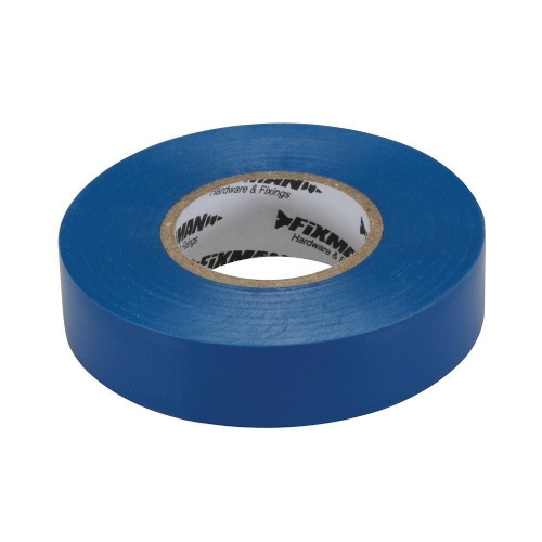 Fixman 187539 Electrical Insulation Tape 19mm x 33m Blue